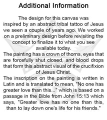No Greater Love... Painting