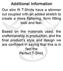 USA Creative Crown Mens Perfect T-Shirt