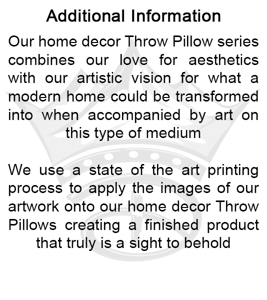 The Creative Crown Throw Pillow