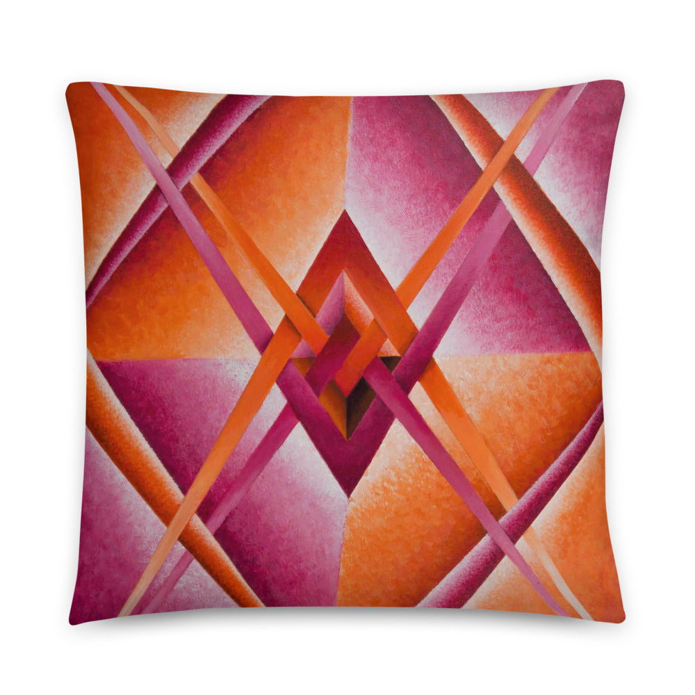Paradigm Perspective Throw Pillow