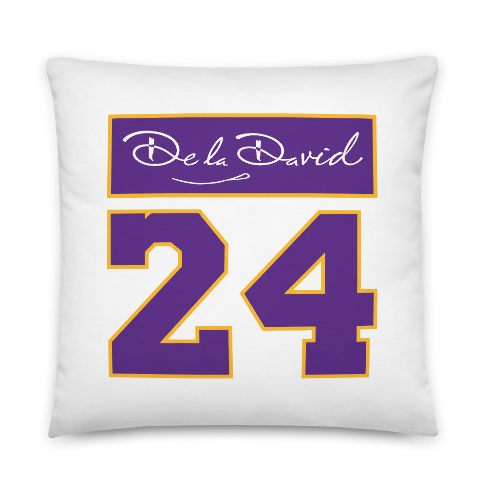 GOAT #8 & #24 Premium Pillow