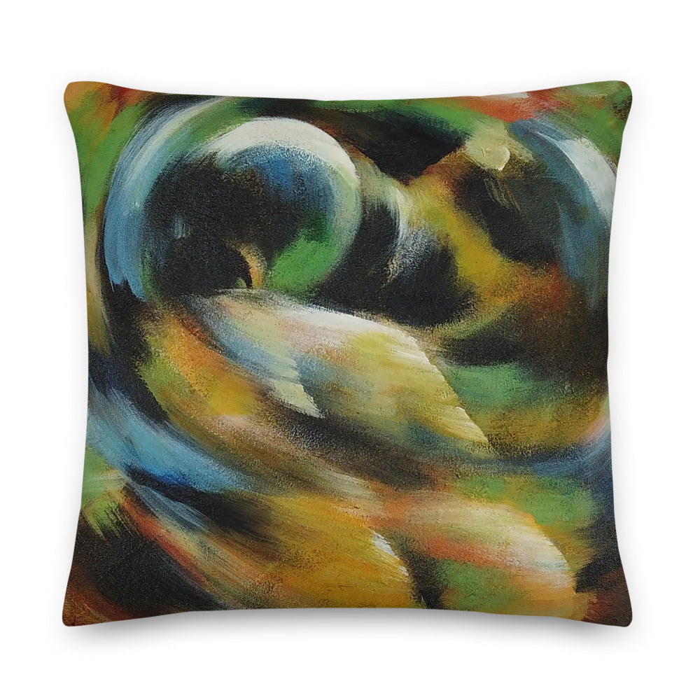 Colorful Bottoms Premium Pillow