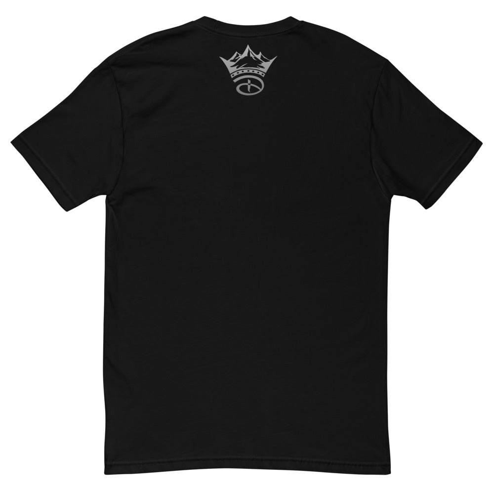 Live Free Or Die Short Sleeve T-shirt | Black & Grey Colorway