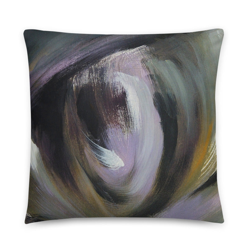 External Visual Perspective Throw Pillow