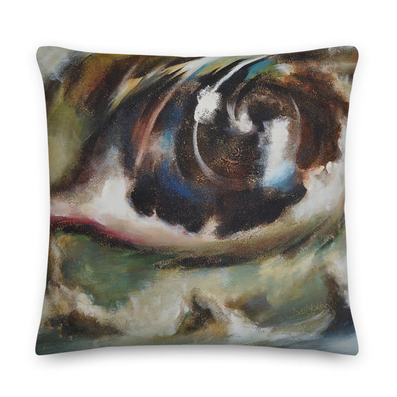 Distant Visual Perspective Throw Pillow