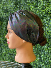 Load image into Gallery viewer, Twist Black Holographic Head Band
