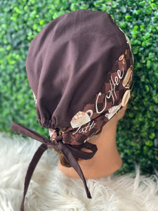 Coffee Lover's Surgical Cap