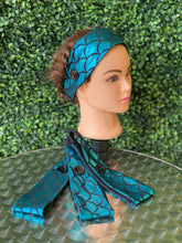 Load image into Gallery viewer, Simple Classic Blue Mermaid dream headband