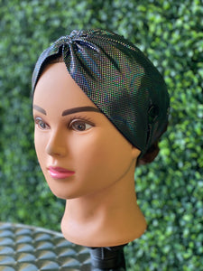 Twist Black Holographic Head Band