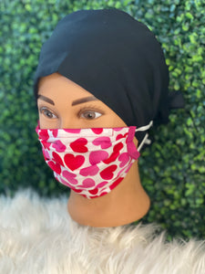 Be My Valentine's Adjustable Mask
