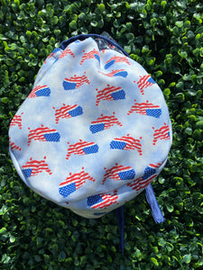 U.S. Flags Surgical Cap