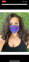 Load image into Gallery viewer, Blue Sarape Mask