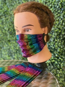 Rainbow Adjustable Mask