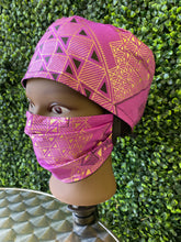 Load image into Gallery viewer, Purple African Print Cap