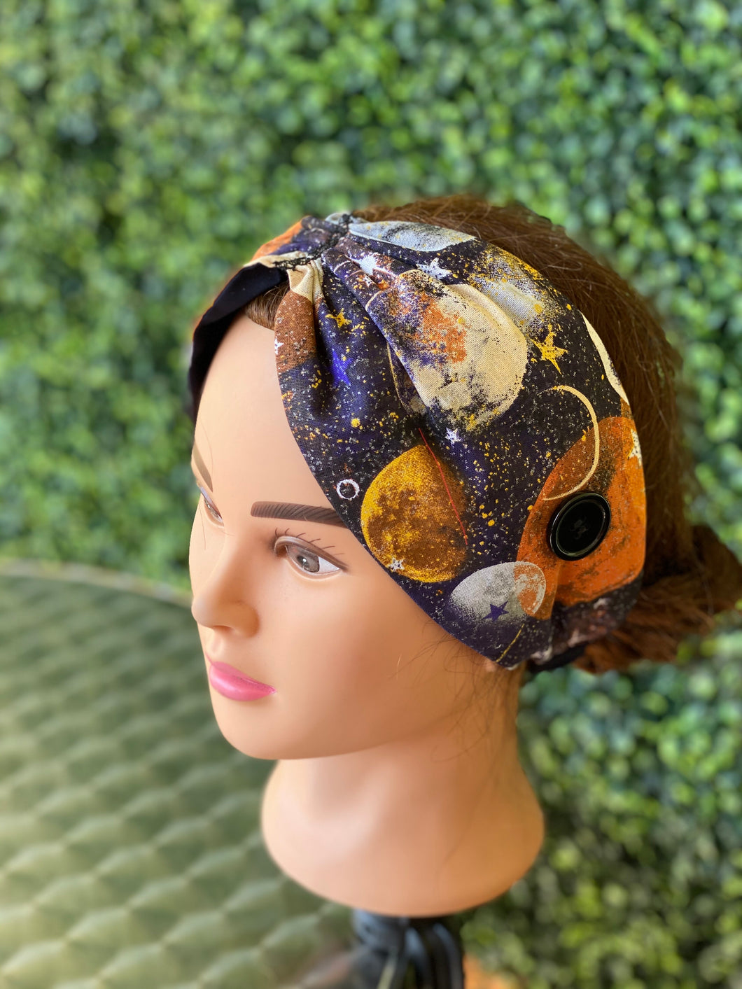 Galaxy pinch ear saving headband
