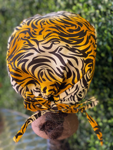 Tiger Surgical Cap