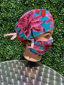 Tropical Island Surgical Cap