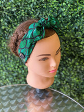 Load image into Gallery viewer, Green Mermaid Dream Bow Head Band