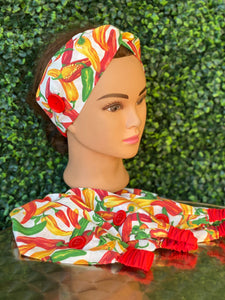 Hot Pepper Twist Headband
