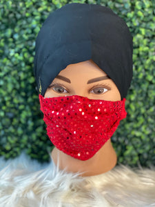 Red Sequence Adjustable Mask