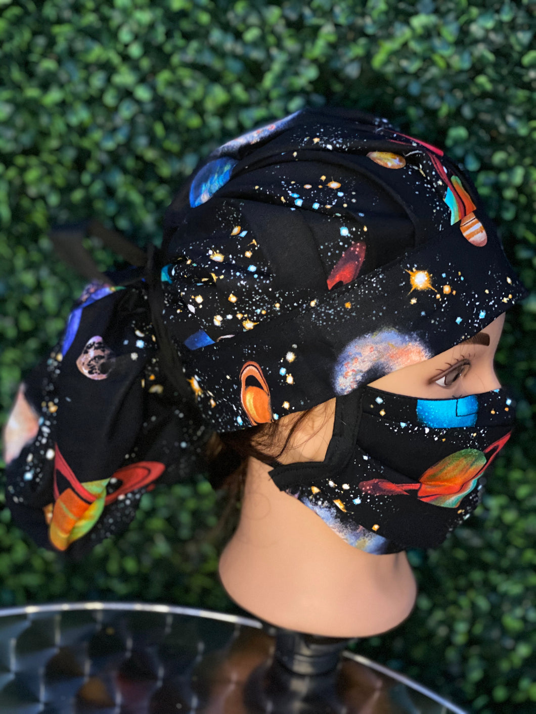 Space Bouffant Hat