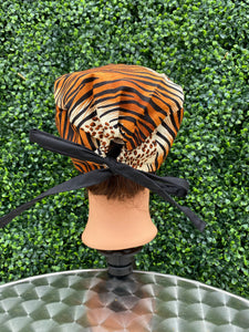 Animal Print Surgical Cap