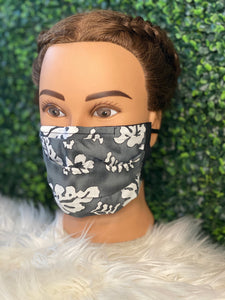 Grey Island Life Face Mask
