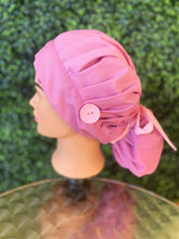 Load image into Gallery viewer, Pink Bouffant Hat