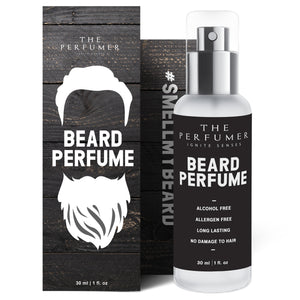 The Perfumer Beard Perfume for Men | No Oil | Manly Fresh Scent | Crafted In Spain | Alcohol Free | No Parabens, Sulfates, Silicones | Allergen Free, 30 ml