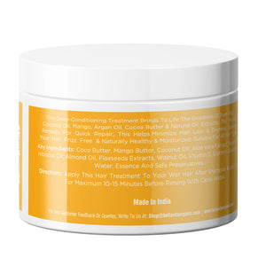 Coconut Mango Hair Mask Cream for Frizzy, Dry & Damaged Hair, 200ml