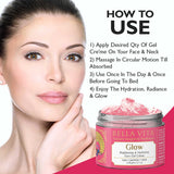 Brightening Day & Night Face Rose Cream For Oily, Normal Skin, 60g