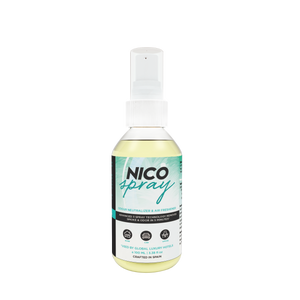 The Perfumer Nico Spray Cigarette Smoke Smell Remover Eliminator and Tobacco Odour Neutraliser Natural Air Spray for Room, Office, Car and Restroom, 100 ml
