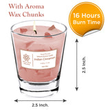 Scented Assorted 4 Aroma Candles For Bedroom, Home, Bathroom, Gifting Occasion, 50g each - Skin Organ