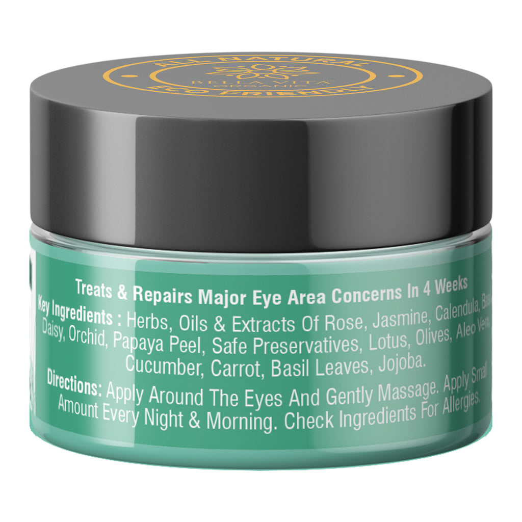 EyeLift Under Eye Cream Gel for Dark Circles, Puffy Eyes & Wrinkles, 20g - Skin Organ