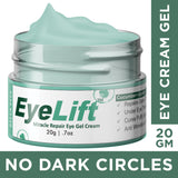 Dark Circle Cream For Men & Women With De Tan Removal Charcoal Facial Scrub For Fairness, Whitening, Brightening & Glow Combo - Skin Organ