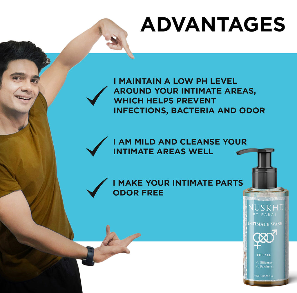 LOL Water Based Lubricant Gel & Intimate Wash Combo For Personal Hygiene For Women & Men