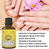 Nail Strong Oil For Cuticle Care, Nail Growth | Repair & Strength, 12 ml