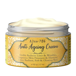 Halal Friendly Anti Ageing Cream, 50g - Skin Organ