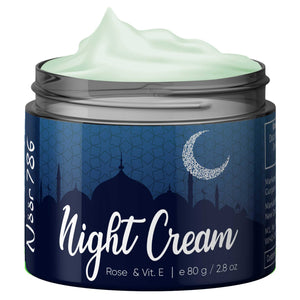 Halal Friendly Rose & Vitamin E Night Cream , 80g - Skin Organ