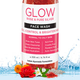 Rose Face Wash For Oily Skin To Dry Skin, 200ml - Skin Organ