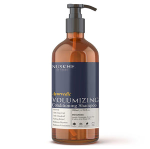 Ayurvedic Volumizing Conditioning Shampoo For Frizz Free & Stronger Hair For Men & Women, 200 ml