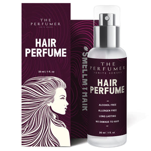 The Perfumer Hair Perfume Spray for Women, Fresh and Fruity, No Alcohol, Mist, Chemical Free, No Frizzy Hair After Spray, Party Essential, 30 ml
