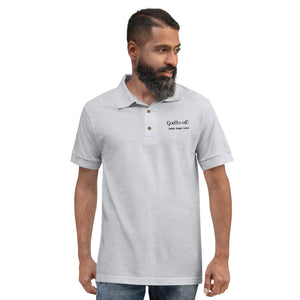 GodSeesU - Faith Hope Love - Embroidered Polo Shirt