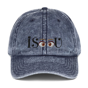 iSeeU - Vintage Cotton Twill Cap