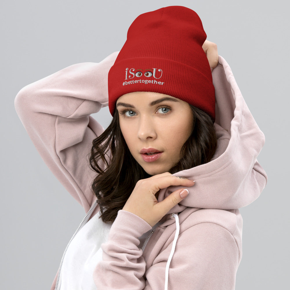 iSeeU - #bettertogether Cuffed Beanie