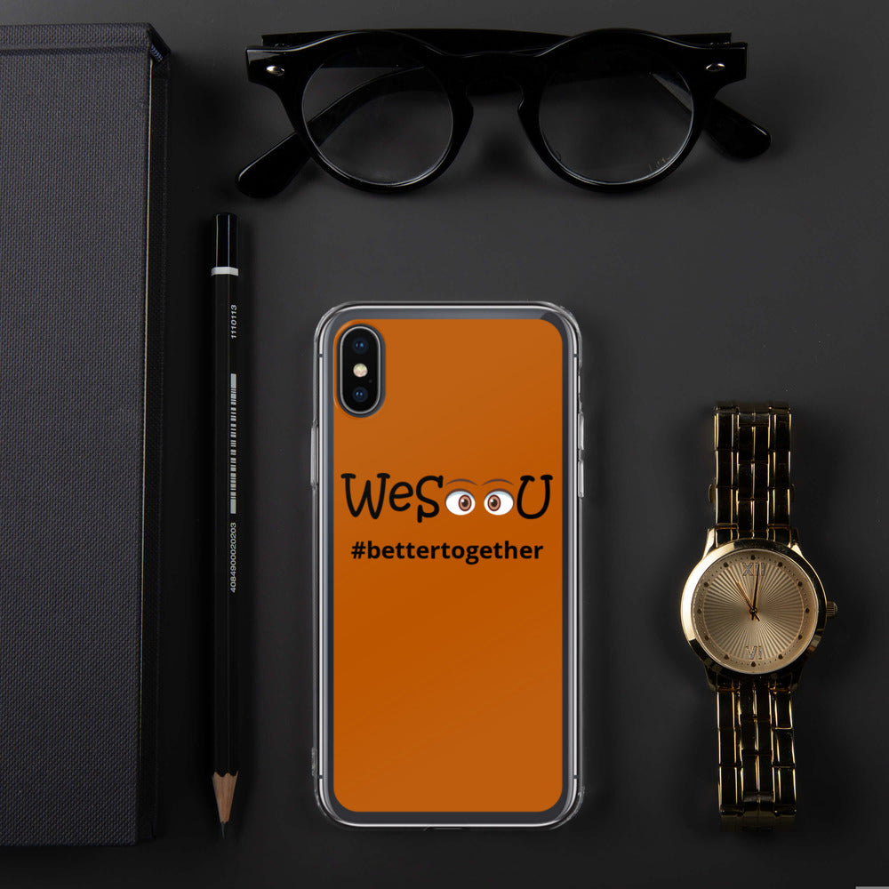 WeSeeU - #itstilltakesavillage - iPhone Case