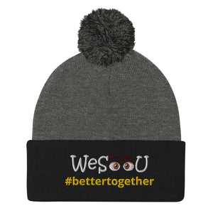 WeSeeU - #bettertogether Pom-Pom Beanie