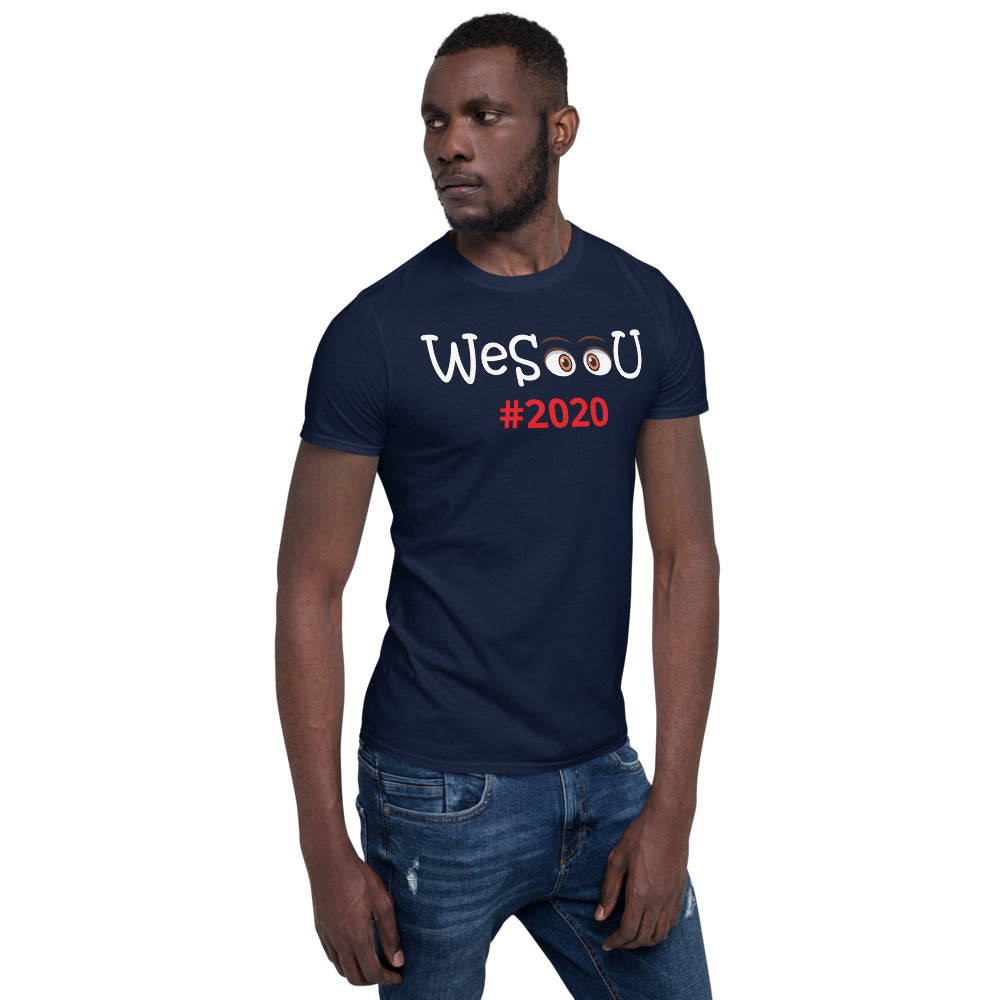 WeSeeU 2020 Short-Sleeve Unisex T-Shirt