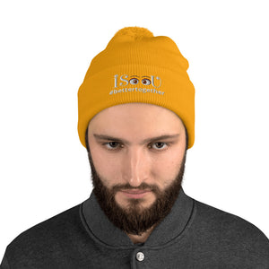iSeeU - #bettertogether Pom-Pom Beanie