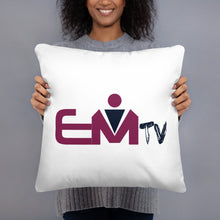 Load image into Gallery viewer, #EMTV Basic Pillow
